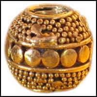 Antique Vermeil Bead