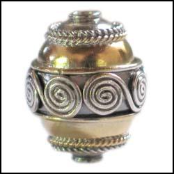 Vermeil Bead Decoration